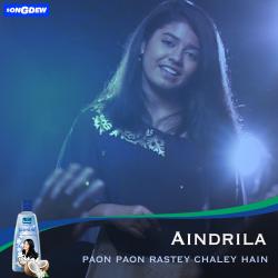 Paon Paon Rastey Chale Hain sung by Aindrila Dutta