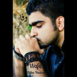 Wafa - Talha Nadeem sung by Talha Nadeem