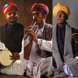 Algoja and Dholak (Double Flutes) sung by Rhythm of Rajasthan