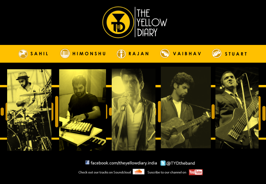 The Yellow Diary , Band Pics