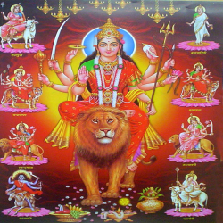 O Durge Mata Hindi Navratri song sung by Pankaj Singhania