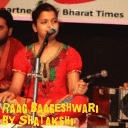 Raag Baageshri sung by Shatakshi Mishra