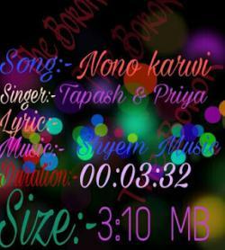 Nono karwi tongwi manya sung by Bishu Deb Barma
