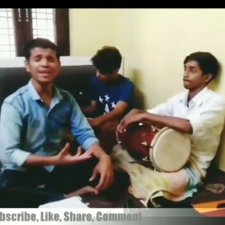 A Bhojpuri  song  sung by The Music Clashers