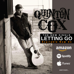 Letting Go sung by Quinton Cox