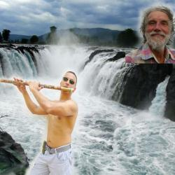 Monody of Water falls ( Original ) sung by FluteFreedom MOOGI