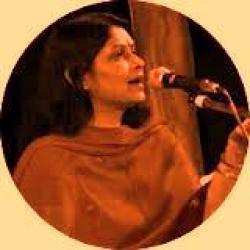Usko Juda Hue Bhi Zamana Bahut Hua. sung by Bharathi Vishwanathan