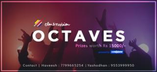 Octaves:  ELAN & Nvision 2019, IIT Hyderabad